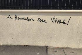 200417 - La Révolution sera virale tag Bagnolet by Kamel B - La Déviation