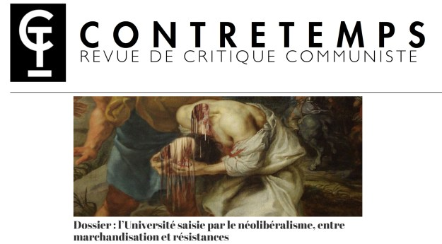 200504 - L'Université saisie par le néolibéralisme by Contretemps - La Déviation