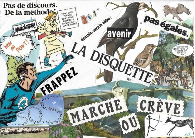 200520 - Collage fanzine Village de la Loire 2019 - La Déviation