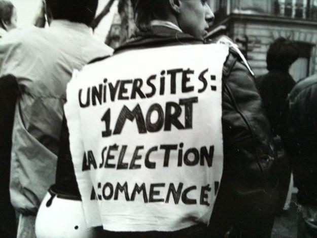 200528 - Capture d'écran du documentaire Devaquet si tu savais de Franck Schneider et Francis Kandel - La Déviation