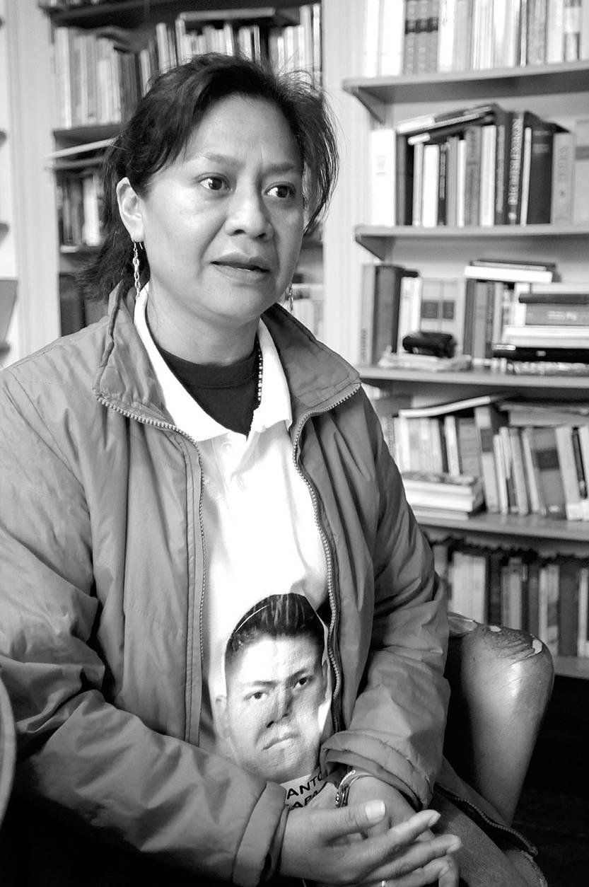 Hilda Legideño Márquez, madre de Jorge Antonio Tizapa Legideño. Foto: Sandro Pereyra