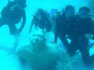 Diving outside Playa del Carmen