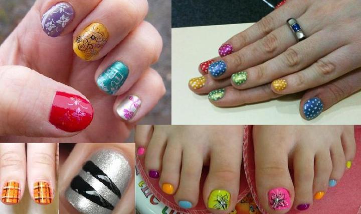 Summer Nail Art Designs For Short Nails Traveltourswall