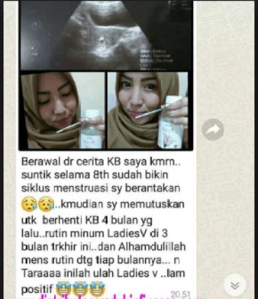 Jual Ladies V Yogyakarta