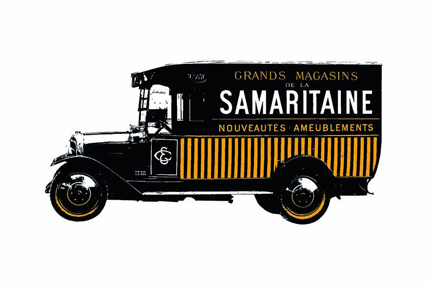 La Samaritaine, camion d'époque