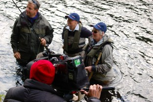 Anne Woodcock Ladies Fishing Sky Sports Tight Lines