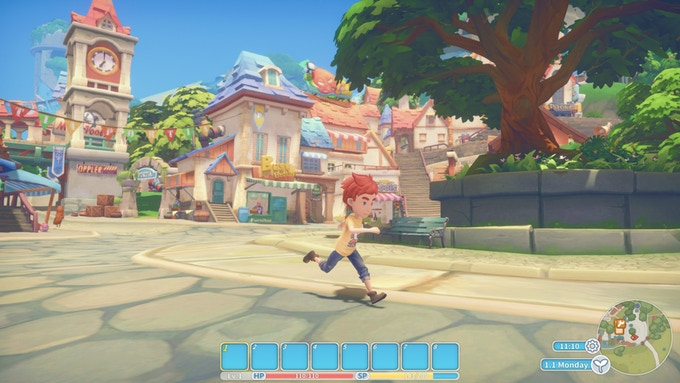 From Steam to Switch: My Time at Portia is making progress