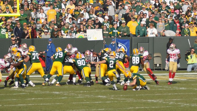 2018 NFL Fantasy Football Week 5 Kicker Rankings. NFL Green Bay Packers Kicker Mason Crosby.