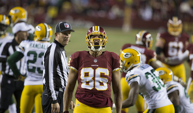 Washington Redskins Tight End Jordan Reed