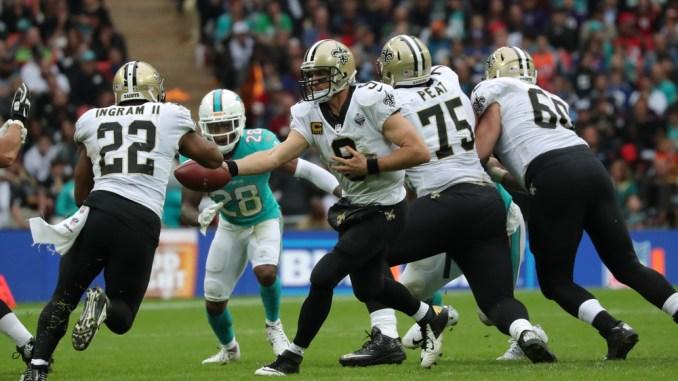 Running back for the New Orleans Saints Mark Ingram. 2018 NFL Week 9 Fantasy Football Running Back PPR Rankings