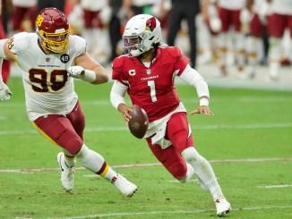 NFL Arizona Cardinals quarterback Kyler Murray