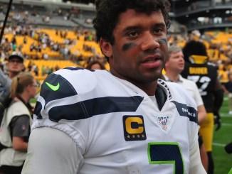 NFL Seattle Seahawks quarterback Russell Wilson