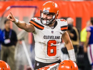 NFL Cleveland Browns quarterback Baker Mayfield