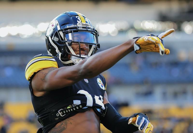 NFL Pittsburgh Steelers safety Terrell Edmund