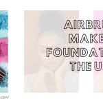 Airbrush makeup foundation in the USA