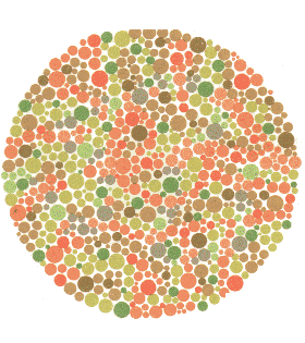 COLOUR BLINDNESS OR COLOUR VISION DEFECIENCY