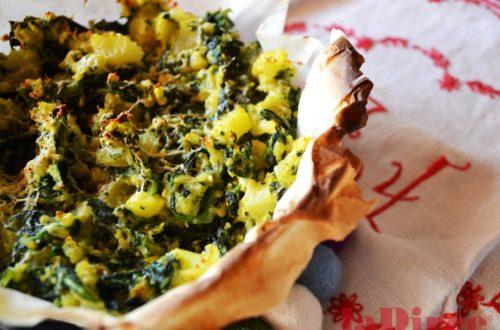 tortino rustico erbe e patate
