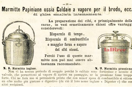 Carlo Sigismund, catalogo 1889 - marmitte papiniane