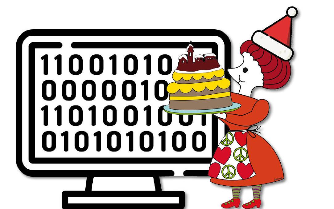 A little bit of Dirce - babbo Natale informatico