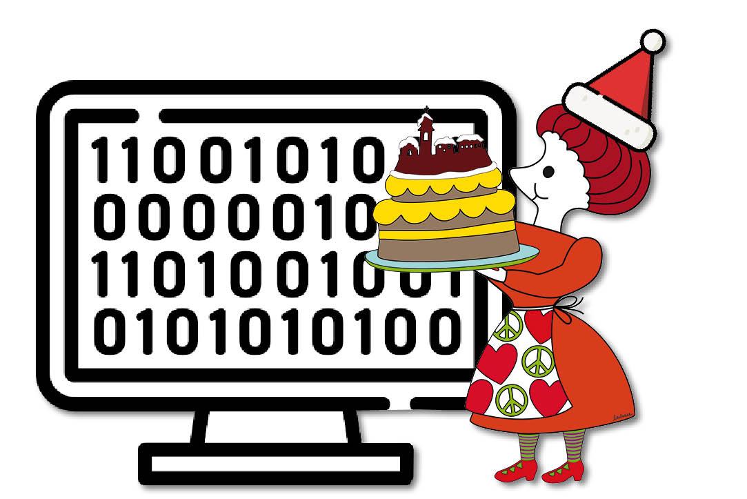 A little bit of Dirce - babbo Natale informatico