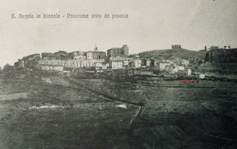Sant'Angelo in Lizzola - panorama 1927