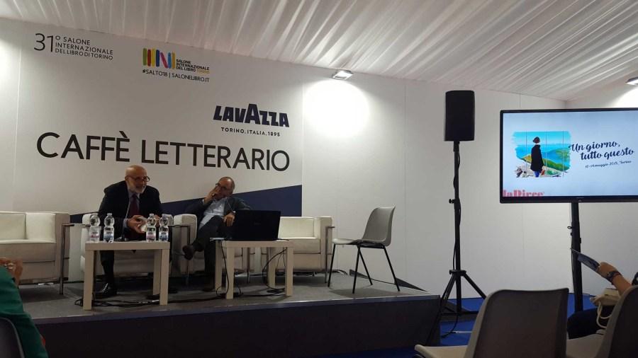 Salone del Libro 2018 - Pino Corrias e Umberto La Rocca