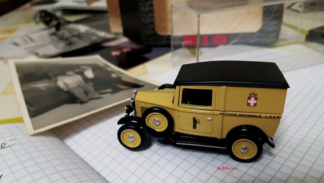 Cinemobile 1936, modellino
