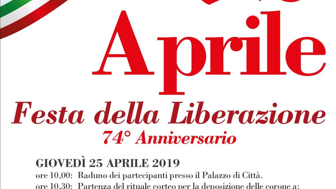 Anche a Bisceglie le celebrazioni per il 74esimo anniversario della Liberazione