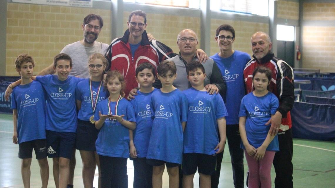 Tennistavolo, Matilde Ingravalle della Dolmen vince nella categoria Giovanissimi regionali