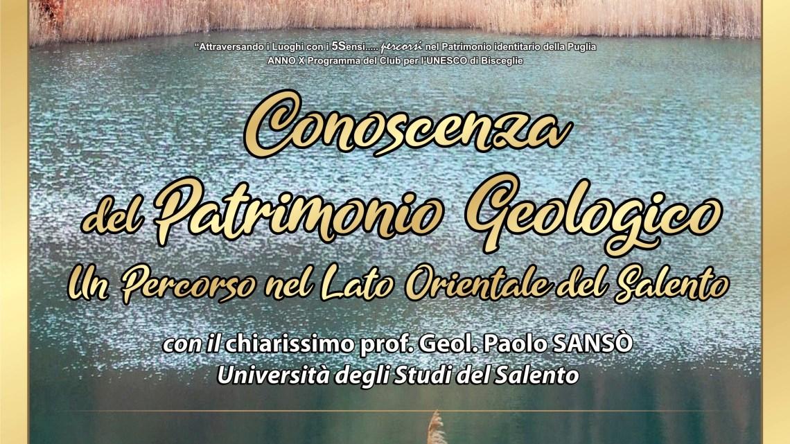 L'Unesco di Bisceglie a caccia del Patrimonio Geologico della Puglia
