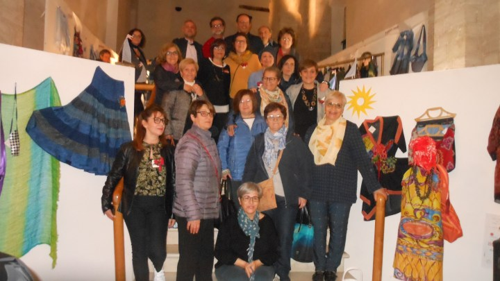 """Caritas, inaugurata la mostra """"Storie e Stoffe"""""""