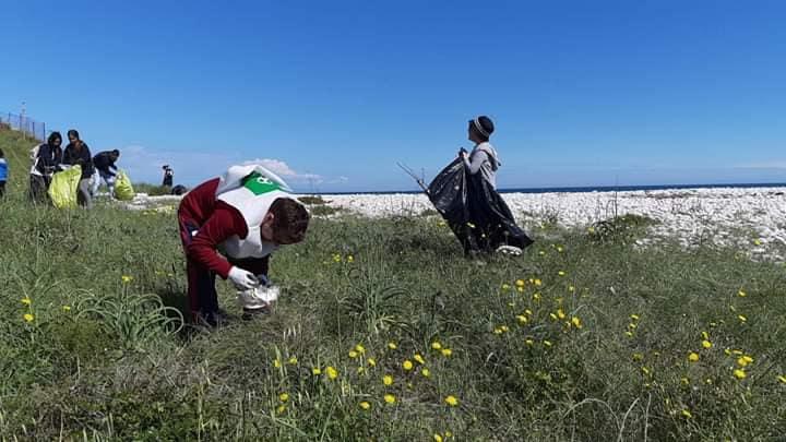Pulizie spiagge la Torretta, Pro Natura stila il bilancio: tra i rifiuti anche pezzi di Tv
