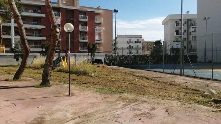 """Dopo l'articolo de """"La Diretta"""" ripulita l'area verde della Scuola """"Angela Di Bari"""""""