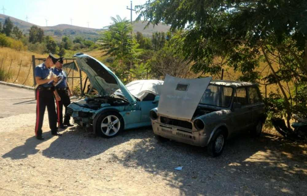 Le auto rubate nella nostra provincia? Vendute a pezzi sul web