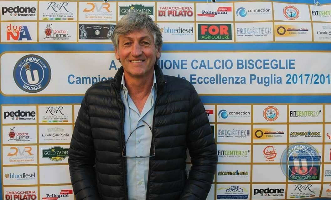 Unione Calcio, termina il rapporto di collaborazione con Renzo Ferrante