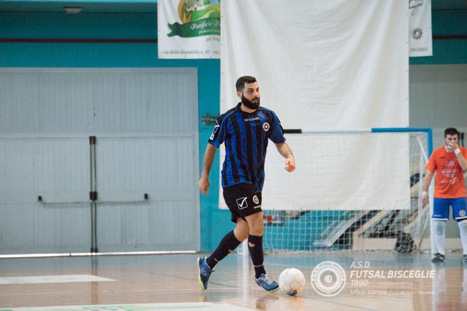 Il Futsal Bisceglie riparte da Giacomo Ferrucci