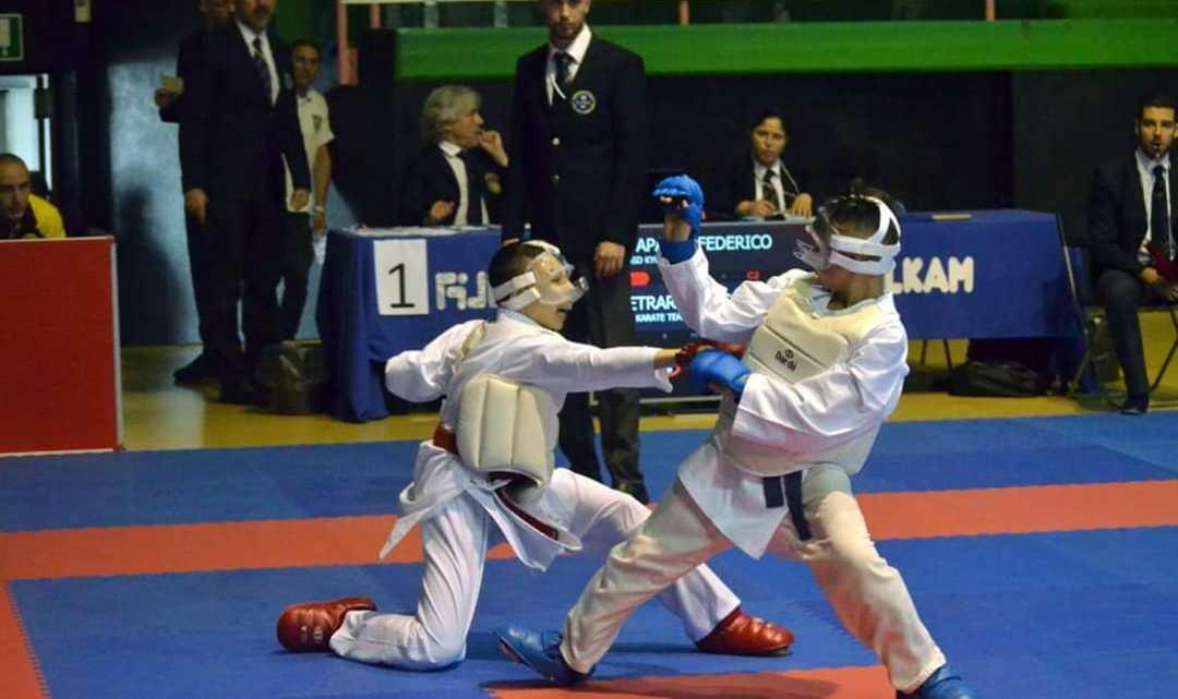 Federico Papagni trionfa ad Ostia karate