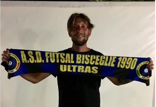 Futsal Bisceglie, Ferdinando Termine in Nerazzurro: «Abbiamo voglia di riscatto»