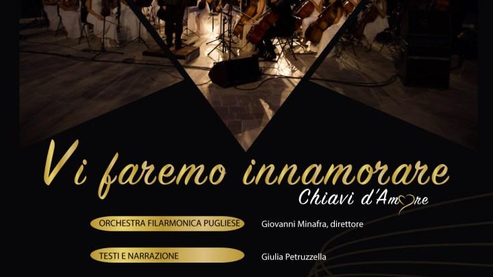Inedito spettacolo a cura dell'Orchestra Filarmonica Pugliese con il biscegliese Carlo Monopoli