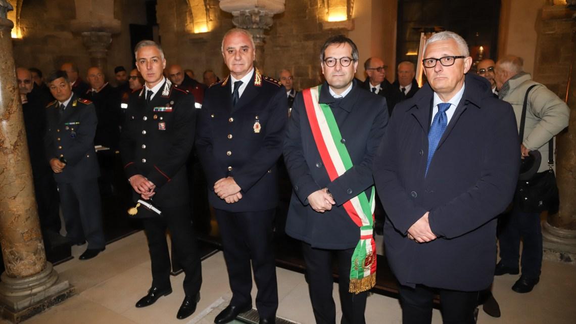 San Sebastiano, celebrata la tradizionale messa in onore del Santo patrono della Polizia Locale