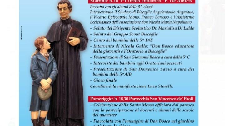 Oggi si ricordano le opere di San Giovanni Bosco a favore della gioventù