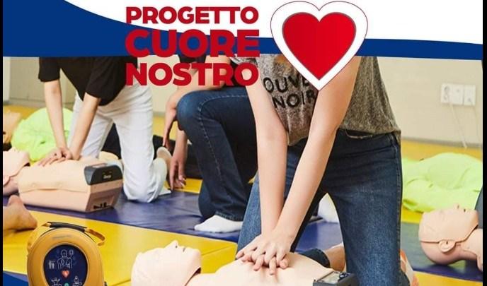 """Nasce il """"Progetto Cuore Nostro"""", defibrillatori per la città accessibili a tutti"""