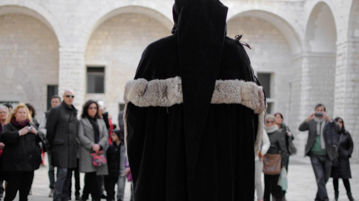 """Anche il biscegliese Belsito a  """"Trani ebraica"""", il Touring Club Italiano fra teatro e visite guidate"""