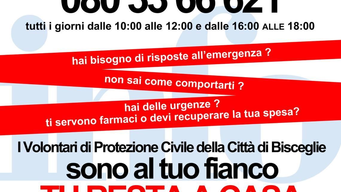Attivato il punto di informazione della Protezione Civile