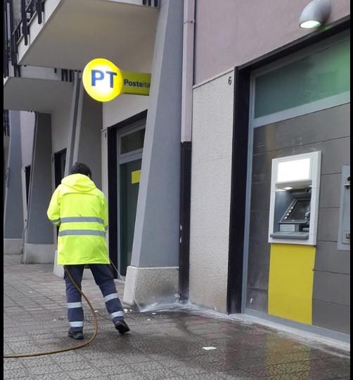 Mercoledì mattina effettuata altra igienizzazione delle strade di Bisceglie