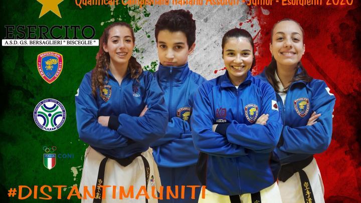 Distantimauniti, il nuovo motto del G.S. Besaglieri Esercito Team Simone di Bisceglie