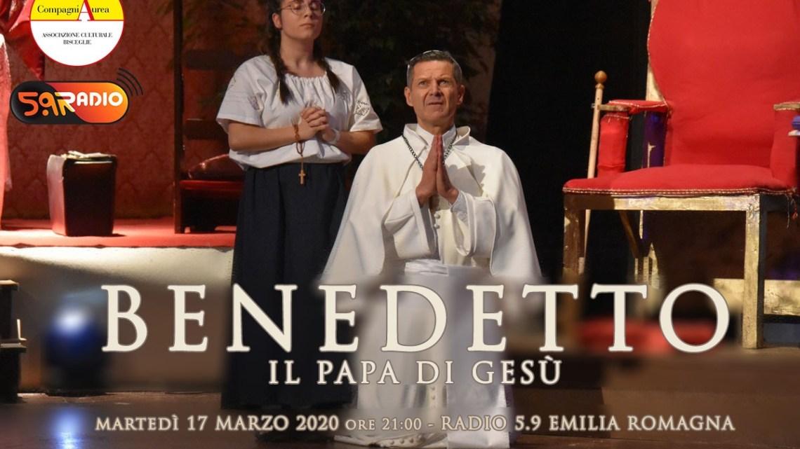 """""""Benedetto. Il papa di Gesù"""" in radio contro il Covid-19"""