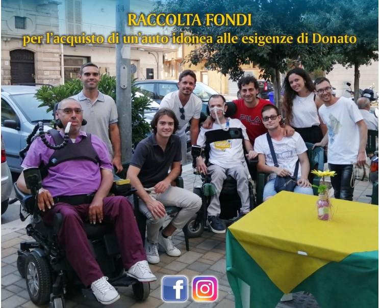 """Continua l'impegno di """"Bisceglie illuminata"""" per Donato"""