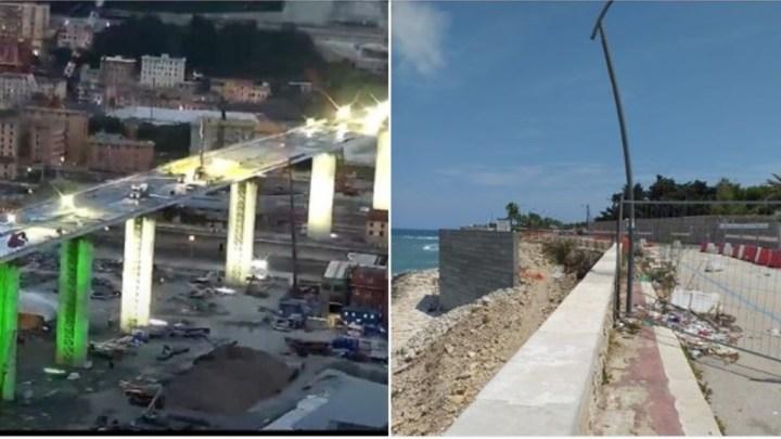 Il paragone con il Ponte di Genova, l'imprenditore Di Liddo critica i ritardi dei lavori sul muro della litoranea
