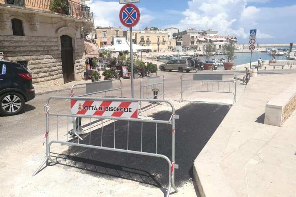 """Asfalto accanto al monumento ai Marinai, Spina: «Angarano non lavori """"a sfregio""""»"""